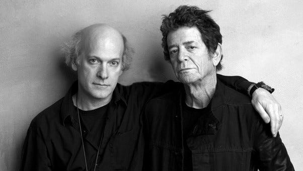 "Filmmaker Timothy Greenfield-Sanders will present his film, ""Lou Reed: Rock and Roll Heart"" at Tompkins Corners Cultural Center."