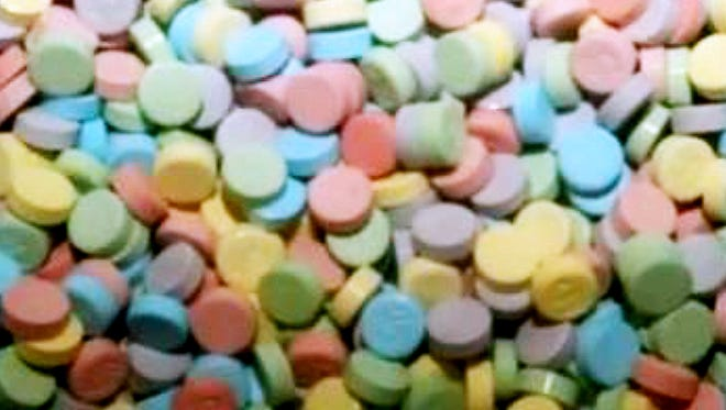 Elmira police are warning drug dealers are making narcotics that look like Sweet Tarts.