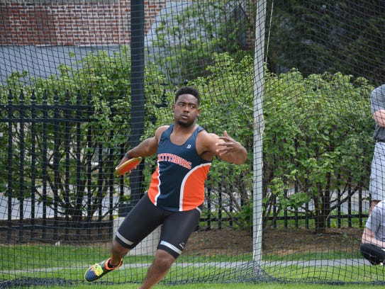 Gettysburg College senior Andre Hinds says he uses