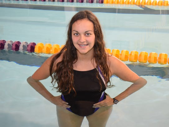 Brianna Serret is the All Cenla Swimming girls' MVP.