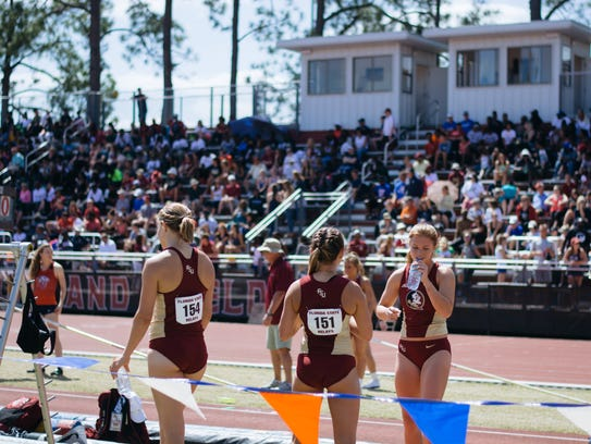 Florida State's women dominated competition during
