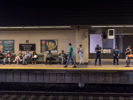 Secaucus Transfer train station on Tuesday September