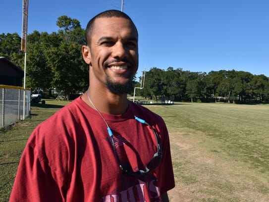 Former New York Giants wide receiver and current Pensacola