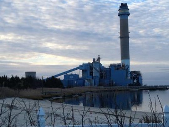 The B.L. England power plant in Upper Township, Cape May County. The proposed South Jersey Gas natural gas pipeline would repower the plant.