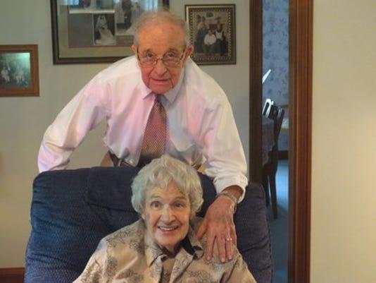 Anniversaries: Mr. and Mrs. Robert Reimer & Eleanor Reimer