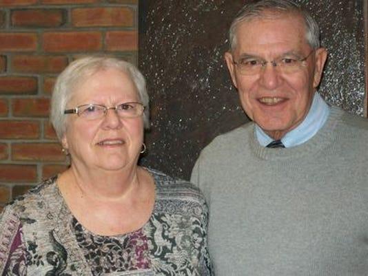 Anniversaries: Charles Clark & Janet Clark