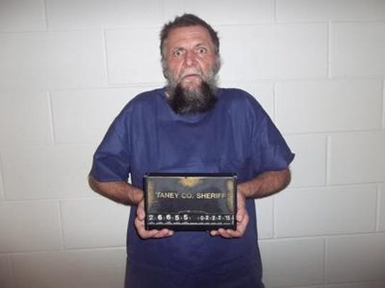 John Roberts after his arrest in 2015.