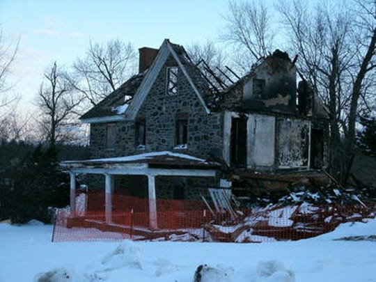 Two boys were arrested in the arson fire that heavily damaged the historic Coffee Run Mission parsonage near Hockessin, later the building was demolished illegally.
