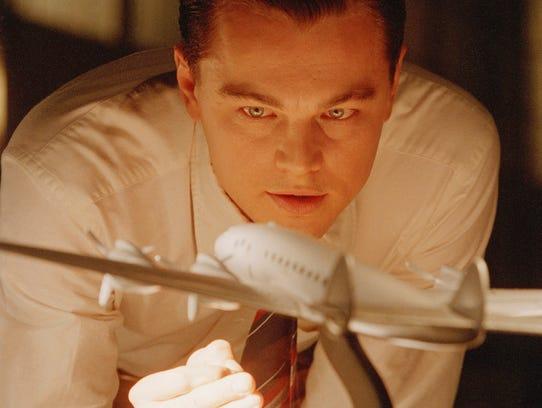 Leonardo DiCaprio as Howard Hughes in 'The Aviator.'