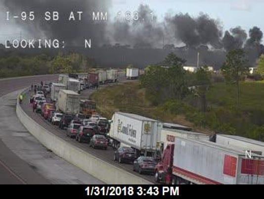 Crash on I-95 in Micco