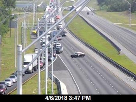 I-9 closed in Volusia