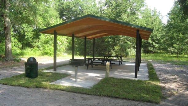 Design of a shelter going into Hallbrook Park in Urbandale.