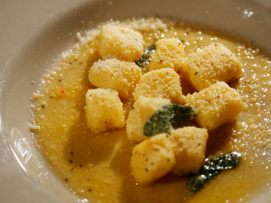 Gnocchi from Lucca in the East Village.