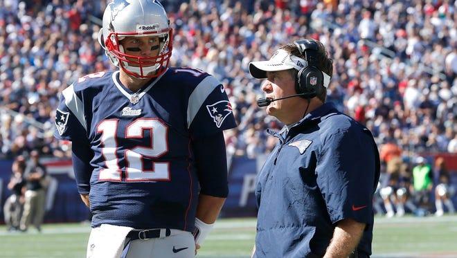 New England Patriots coach Bill Belichick and quarterback Tom Brady have kept giveways to a minimum since 2000.