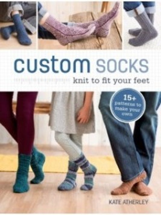 Kate Atherley has just published a new book about how to knit socks like a pro. This is a companion piece to her video on the same subject. Both are available from Interweave.com.