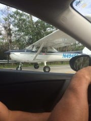 Unknown problem forced student pilot to land on U.S.