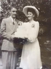 Charles and Helen Simon of Mansura were married at St. Paul's Catholic Church in 1942. They are among the Top Ten longest-married couples in Louisiana.