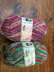 This yarn will make great doll clothes.