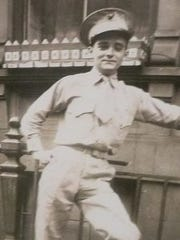 """Francis T. Duffy, a World War II veteran who was awarded the Silver Star for """"conspicuous gallantry and intrepidity""""  in single-handedly stopping a grenade attack in which he was seriously wounded, will be the parade commander for the 2018 Rockland County St. Patrick's Day Parade."""