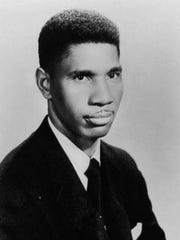Medgar Evers, born July 2, 1925, in Decatur, Miss., was killed June 12, 1963, in Jackson, Miss., by a white supremacist. (Photo: Brown University)