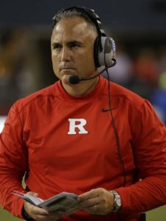 Rutgers head coach Kyle Flood and his staff have had a strong finish to the recruiting season.(Photo: AP)