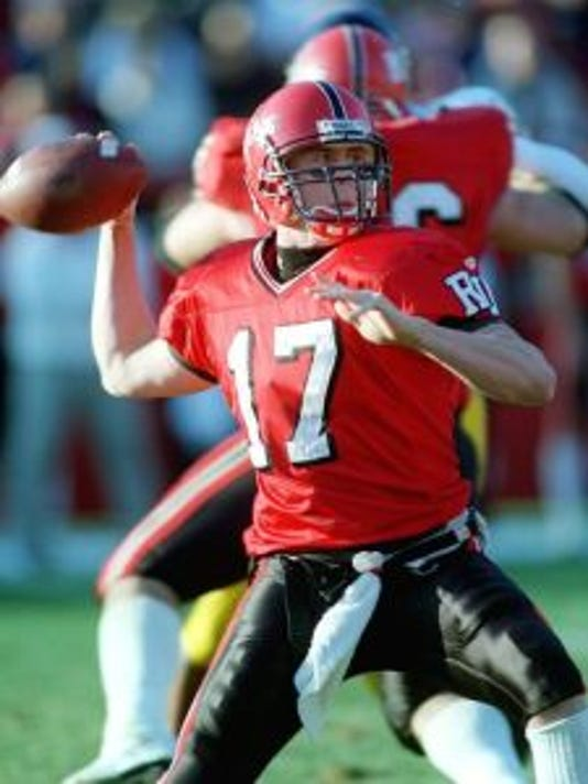 Former Rutgers quarterback Mike McMahon is back in school working toward finishing his degree and hoping to find a role with the football program.(Photo: File photo)