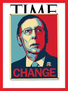 Sen. Mitch McConnell on the cover of TIME, Nov. 17, 2014.