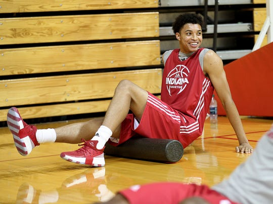 Clifton Moore will likely provide depth in the Hoosiers' frontcourt.