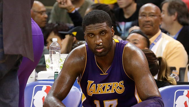 Roy Hibbert and the Lakers have had rough going early on in 2015.