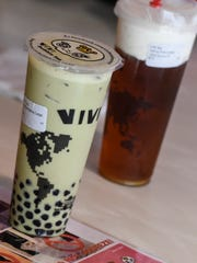 Orders are ready for pick-up at ViVi Bubble Tea Wednesday,