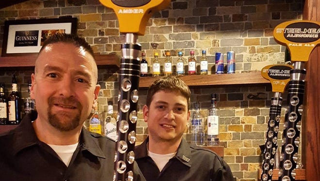 Dave Baron and Jason Radosevich are the brewers behind Steelhead Aleworks.