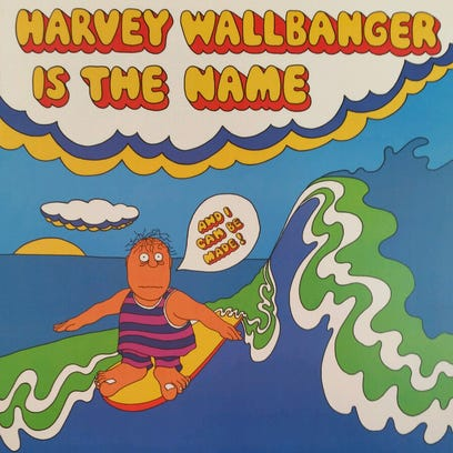 Harvey Wallbanger, the mascot that launched the namesake