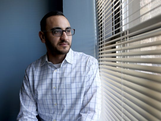 Mohammed Alhomsi, 26, of New Rochelle, is an American