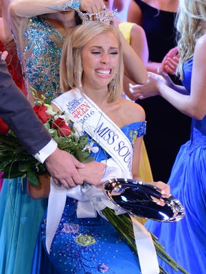 Makayla Stark was crowned Miss South Carolina Teen on Friday at the Township Auditorium in Columbia.