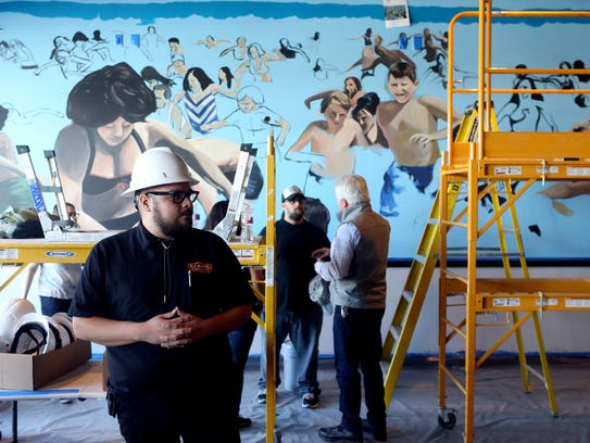 Preparation Manager Daecos Sanchez from the Alamo Drafthouse