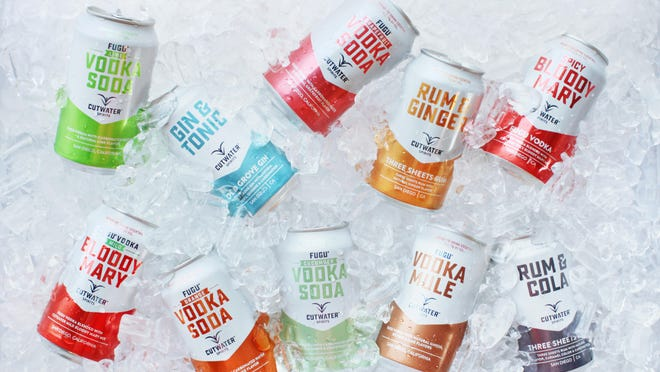Cutwater Spirits, a San Diego craft distillery, is pouring some of its canned cocktails at Canfest, the annual canned craft beer event running Aug. 26 at Grand Sierra Resort and Casino. Canned cocktails are making their Canfest debut this year.