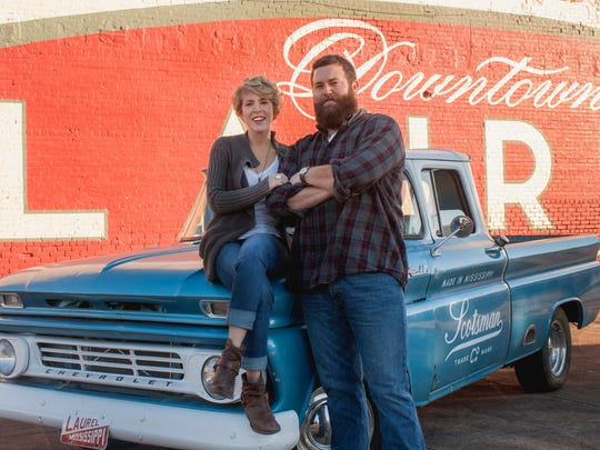 """The pilot for """"Home Town"""" featuring Laurel couple Erin and Ben Napier airs Sunday on HGTV."""
