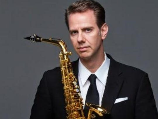 Classical saxophonist Tim McAllister will perform Sunday at the Guardian Building.