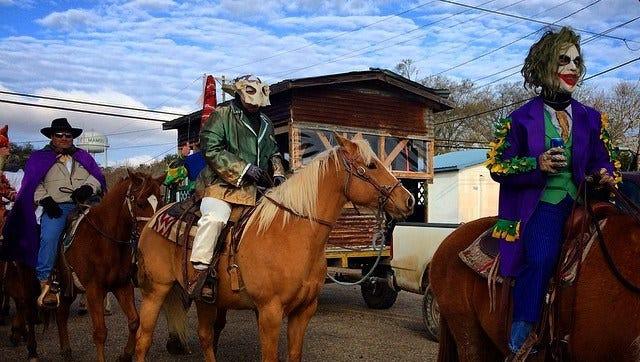 Courir de Mardi Gras in Mamou