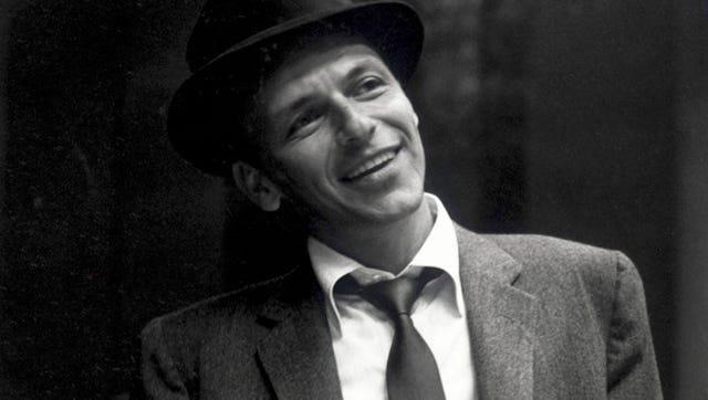 Frank Sinatra, with style.