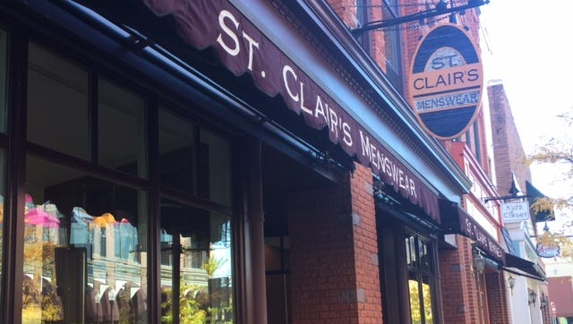 The former St. Clair's Menswear store will be transformed into an upscale wine bar, Crostini Bar.