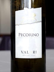 The pecorino grape is named for the sheep that like to steal a few grapes when grazing too close to the vines.