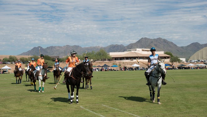 This year's lineup features Polo Azteca versus Club Polo Cabo, the San Diego Polo Club against Arizona's own Polo Club, and the reigning champions, the Clogau Wales Polo Team competes against the Aspen Valley Polo Club.
