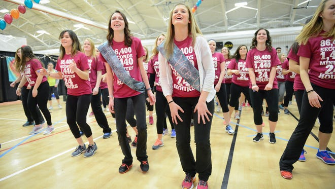 St. John Fisher College students at Teddi Dance for Love