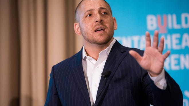 Kevin Hines, a suicide prevention and mental health advocate, will speak in York.