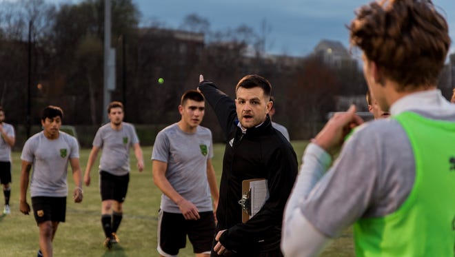 Lee Squires was tabbed as head coach of Greenville FC in March.