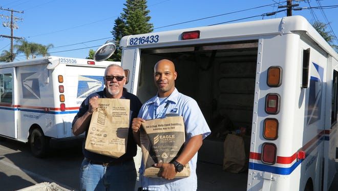 The National Association of Letter Carriers' Stamp Out Hunger food drive will happy on Saturday, May 12.