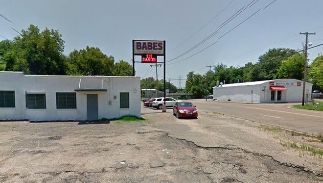 Babes strip club in Jackson, Miss.