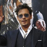 Johnny Depp, being honored in Palm Springs and Santa Barbara film festivals
