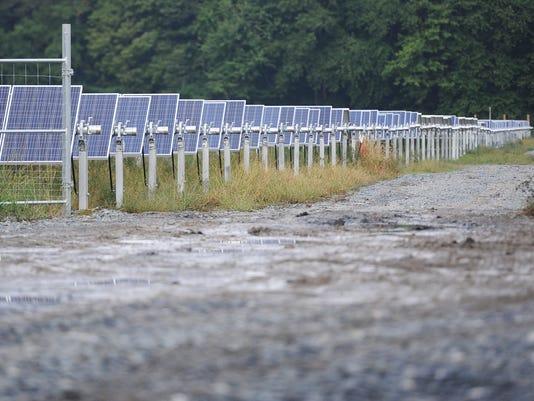 solar panels rise